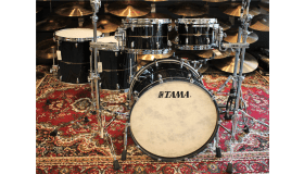 Tama Star Mahogany, African Quilted sapele / mahogany Midnight storm sapele