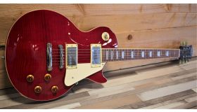 Tokai LS62F, See Thru Red
