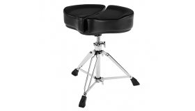 AHead Spinal G Drum Throne, Black SPG-BL-3