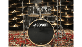 Sonor AQ1 Stage Set - Finish ply Woodgrain Black