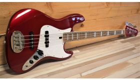 Lakland Skyline 4460 custom candy apple red, laurel fingerboard