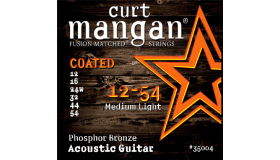 Curt Mangan Coated Phosphor Bronze .012-.054