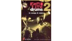 Boek Real Time Drums, ln songs & Styles, Level 2