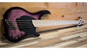 Dingwall Combustion 5-3, maple toets, Ultra Violet
