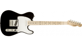 Squier Affinity Telecaster, Black MN