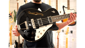 Duesenberg Starplayer Bass, Black
