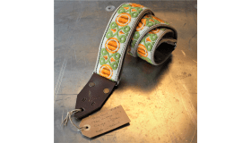 Holy Cow Straps 60's Orange and Green #1 of 2
