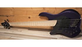 "Dingwall NG3 ""Nolly"" Signature 5-string Lefty, Purple Metallic"