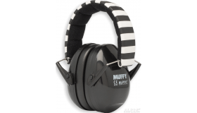Alpine MusicSafe Muffy Earprotection, zwart